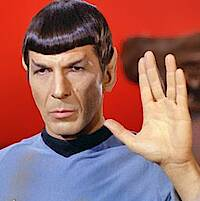 Spock: »Lebe lang und in Frieden!« (c) Paramount Home Entertainment