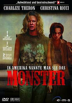 Monster – DVD-Cover von 2004