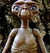 So rührend, so anders, so lieb: Everybody's Darling E.T. (c) United International Pictures