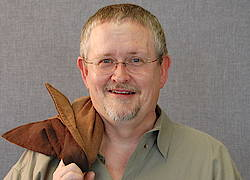 Orson Scott Card 2008 an der Young University in Provo, Utah