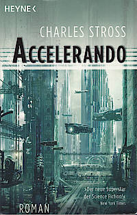 Accelerando, Cover von Stephane Martinière