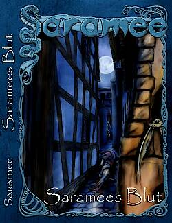 Cover der Anthologie Saramees Blut