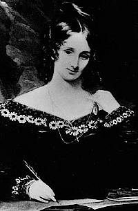Mary Shelley, die Autorin