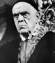Ernster Blick, böser Sinn, großer Zauber: Karloff in »Der Rabe«, 1962 (c) MGM Home Entertainment