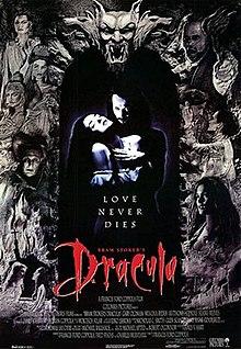 Coppolas Dracula-Verfilmung mit illustrer Besetzung: Gary Oldman (Graf), Anthony Hopkins (Van Helsing), Keanu Reeves (Jonathan) (Film-Cover)