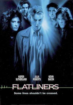 Nerven- und Bewältigungstrip in Flatliners, 1990 (Filmcover)