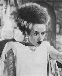 Die phantastische Elsa Lancester als die erschaffene Braut (c) Universal Pictures