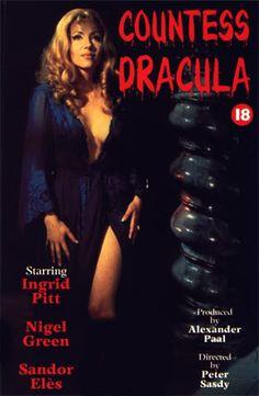 Dem Image der sexy Vampirin verpflichtend … sei sie noch so grausam: »Countess Dracula« (Filmcover)