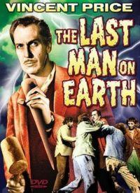 Der Film mit Price basiert auf dem Roman »I am Legend« von Richard Matheson und wurde 2007 mit Will Smith in der Hauptrolle erneut auf die Leinwand gebracht (Filmcover)